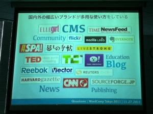 国内外で様々に使われている WordPress